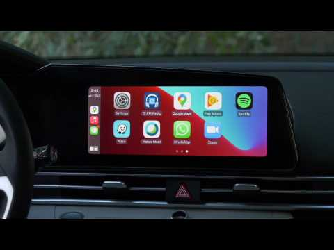 2021 Hyundai Elantra Limited - Infotainment and Dynamic Voice Recognition System Demonstration