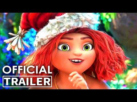 """THE CROODS 2 """"Christmas Song"""" Trailer (Animation, 2021)"""