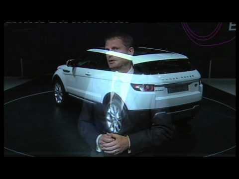 Range Rover Evoque Launch during press conference