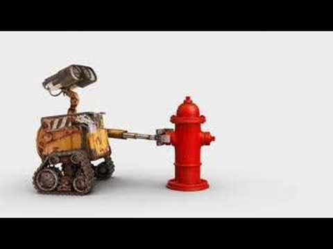Wall-e Clip: Fire Hydrant