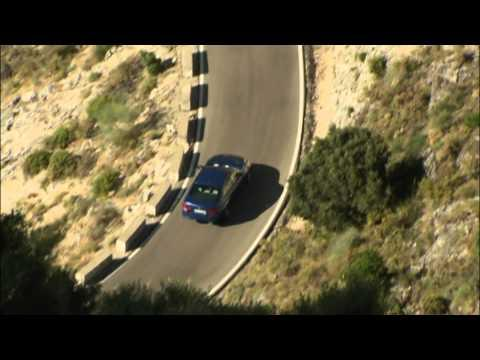 The new BMW M5   Driving shots mountain road