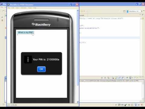Web Development - How to create a Widget using the Plug-in for Eclipse - BlackBerry