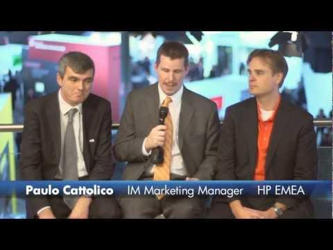 VIVIT interview with Martijn Stuiver and Paolo Cattolico Vienna at HP Discover Vienna 2011