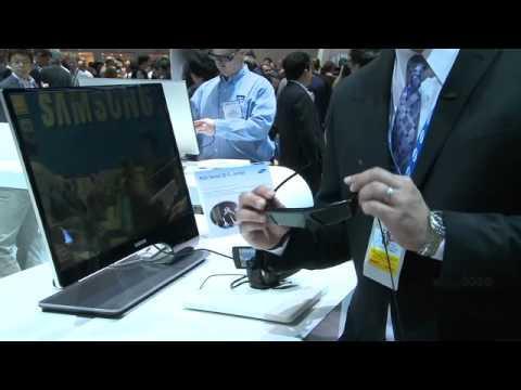 Samsung CES 2011: 3D LED Thin Bezel 950 Series Monitor