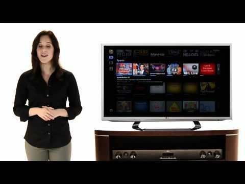 LG Smart TV with Google TV - TV & Movies App
