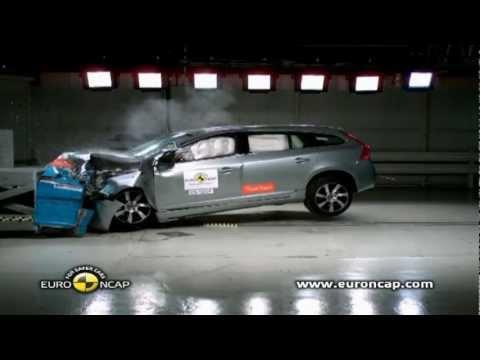 Volvo V60 Plug In Hybrid Crash Test 2012