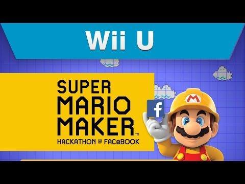Super Mario Maker Facebook Hackathon Episode 3: Announce + Celebrate