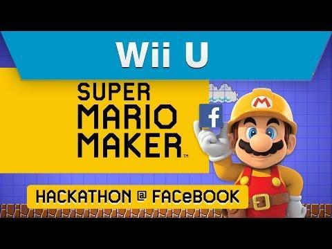 Super Mario Maker Facebook Hackathon