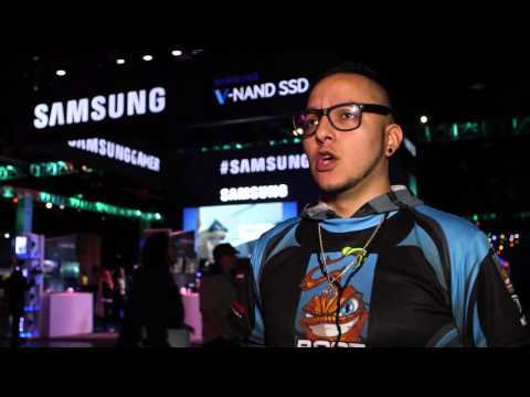 BlizzCon 2015: Samsung 850 PRO SSD, Curved & UHD Monitors