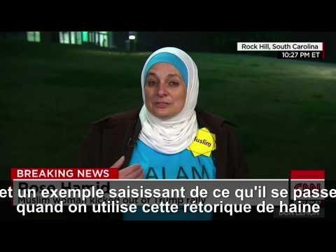 Mis dehors lors d'un meeting de Donald Trump, cette musulmane a la plus belle explication de sa démarche
