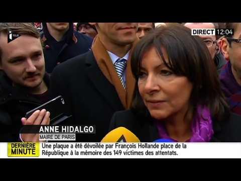 Les étranges explications d'Anne Hidalgo à la faible mobilisation place de la République