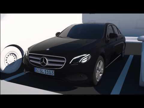 Mercedes-Benz Parking Pilot - rear cross-traffic alert - Animations | AutoMotoTV