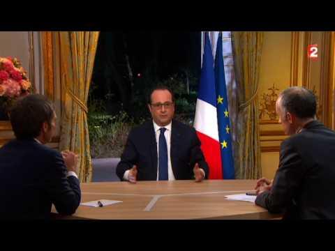 François Hollande annonce des baisses de cotisations pour les agriculteurs