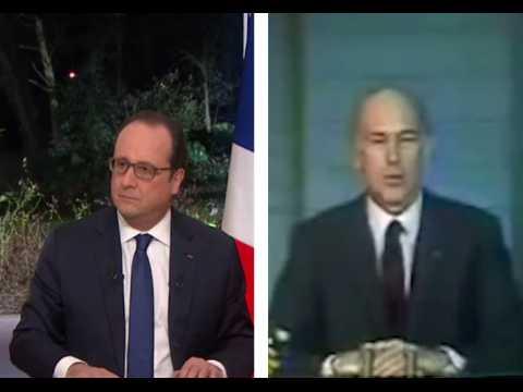 """""""À la prochaine fois"""" François Hollande a-t-il fait une Giscard ?"""
