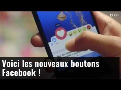 Facebook lance ses nouveaux boutons de réaction