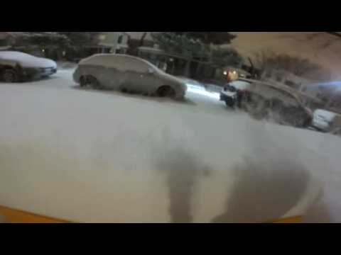 Late winter storm slams Toronto