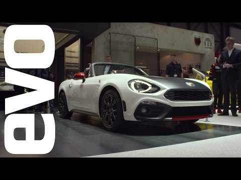 Abarth 124 Spider. Better looking than an MX-5? | evo MOTOR SHOWS