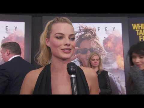 Margot Robbie Absolutely Stuns At 'Whiskey Tango Foxtrot' Premiere
