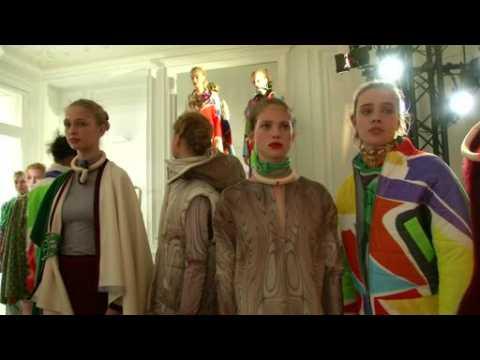 Young Dutch designer kicks off Paris Fashion Week