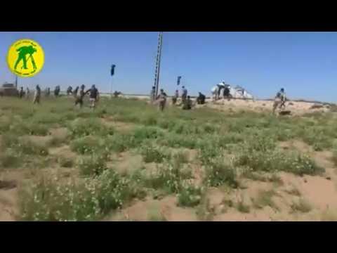 Iraq's Shi'ite militia target Islamic State - video