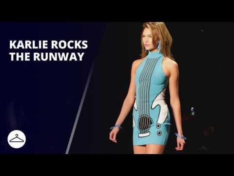 NYFW: Karlie Kloss kicks off Jeremy Scott show