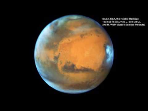 Hubble captures Mars close-up