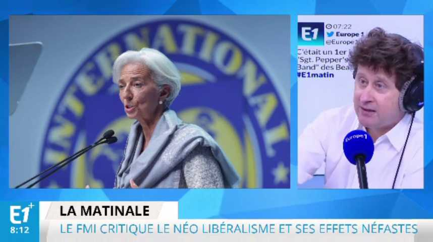 Illustration pour la vidéo Le FMI de Christine Lagarde aurait-t-il perdu la tête?