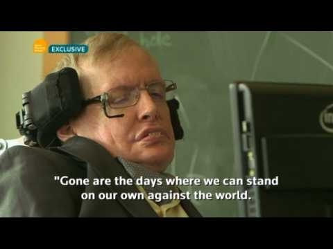 Stephen Hawking says Britain should stay in the EU