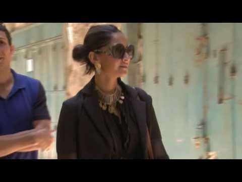 Bollywood star Sonam Kapoor visits Israel
