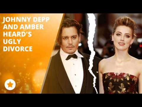 Johnny Depp an Amber Heard's divorce turning ugly