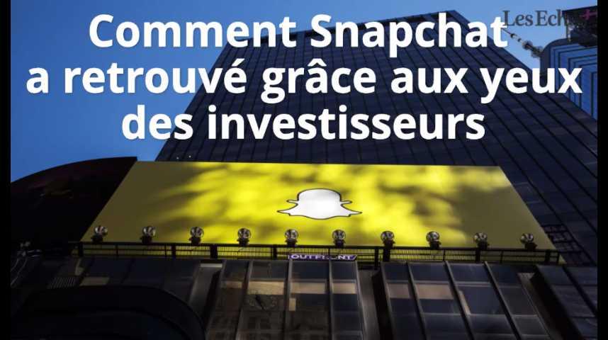 Illustration pour la vidéo Comment Snapchat a retrouvé grâce aux yeux des investisseurs