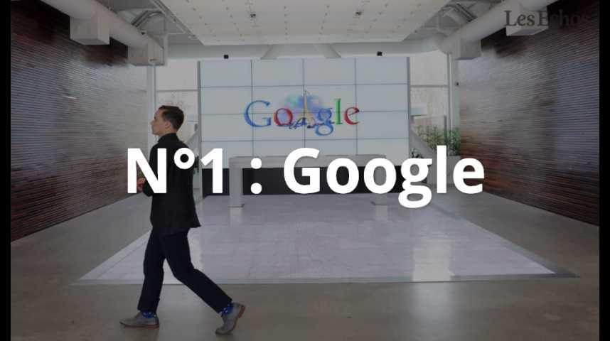 Illustration pour la vidéo Les géants du Net dominent le classement des marques mondiales