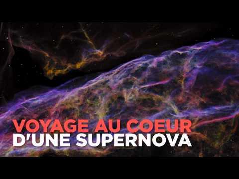 Au coeur d'une supernova, comme si vous y étiez