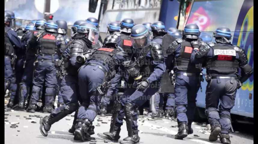 Illustration pour la vidéo Loi travail : la manifestation dégénère encore à Paris