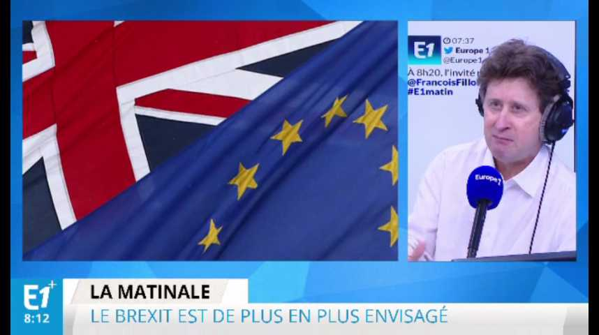 Illustration pour la vidéo Brexit : panique à la bourse