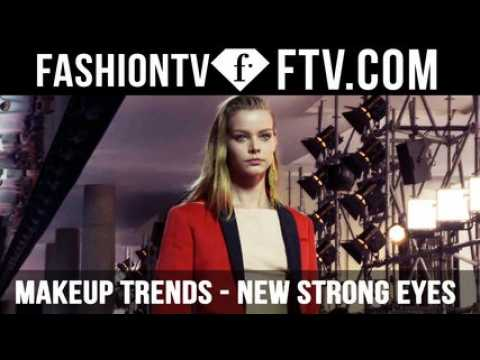 Makeup Trends Spring/Summer 2016 New Strong Eyes | FTV.com