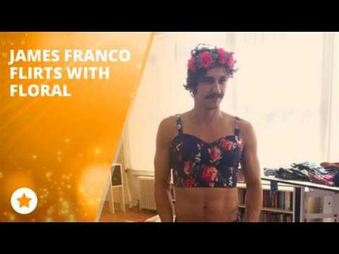 James Franco blossoms into summer... in a bikini