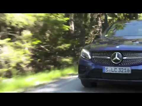 Mercedes-Benz GLC 300 4MATIC Coupe - Driving Video in Brilliant Blue Trailer | AutoMotoTV
