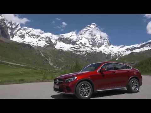 Mercedes-Benz GLC 350 d 4MATIC Coupe - Exterior Design in Red Metallic Trailer | AutoMotoTV