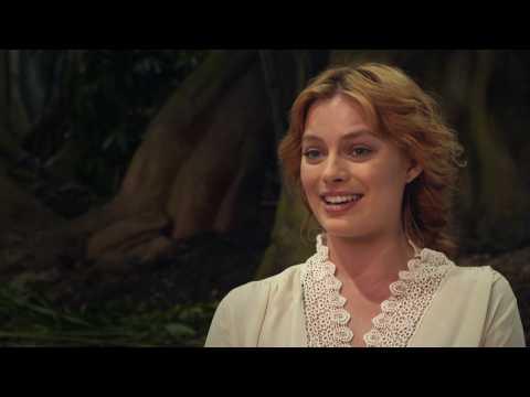 Margot Robbie Is A Feminist Leader On 'The Legend Of Tarzan' Set