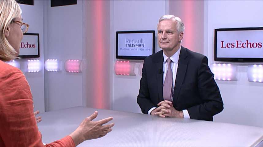 """Illustration pour la vidéo Michel Barnier : """"Il faut faire moins de textes à Bruxelles"""""""
