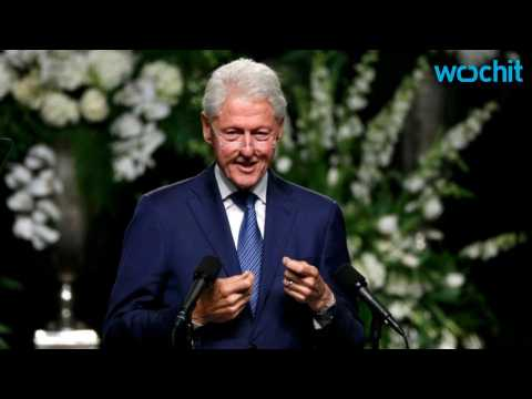 "Bill Clinton Says Ali ""Wrote His Own Story"""