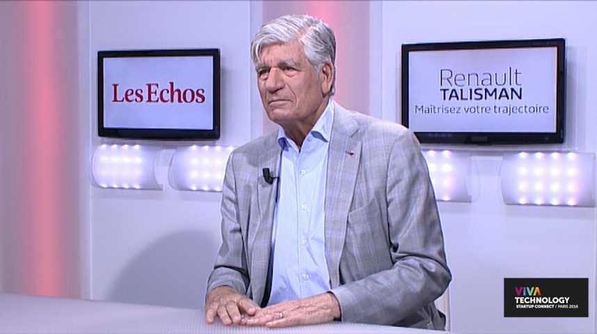 """Illustration pour la vidéo Maurice Lévy: """"Vivatech, c'est le Davos du numérique"""""""