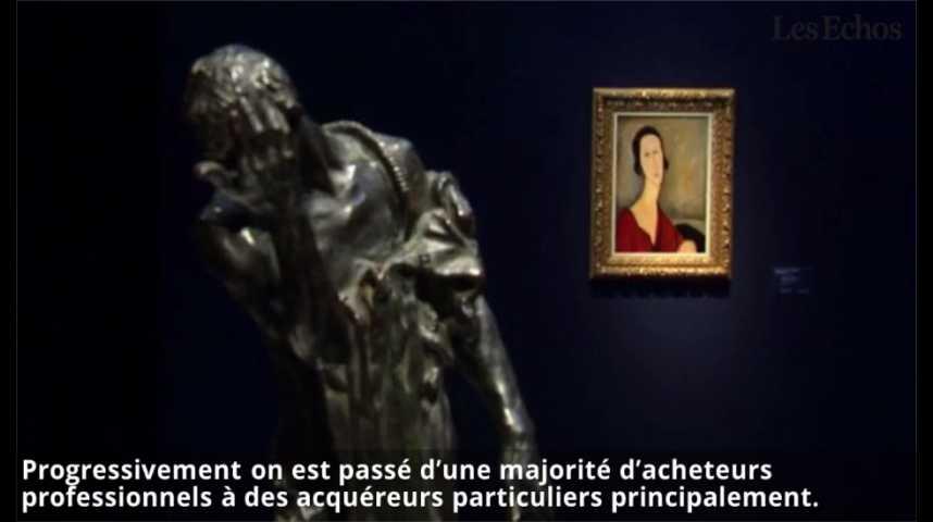 Illustration pour la vidéo Vente historique pour les 250 ans de Christie's