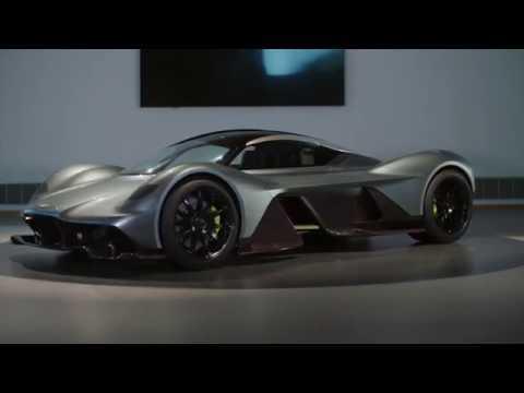 Aston Martin AM RB 001 Exterior Design in Studio Trailer | AutoMotoTV