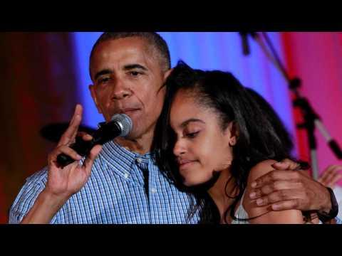 President Barack Obama sings Happy Birthday to Daughter Malia