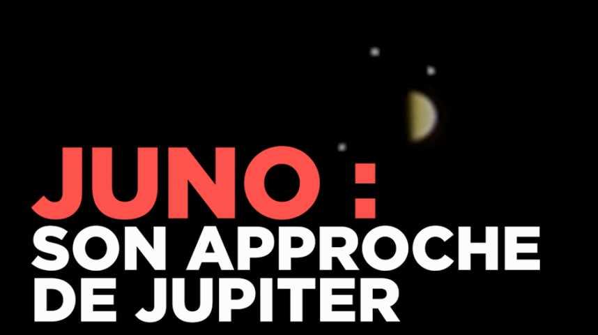 La sonde Juno a réussi à se mettre en orbite autour de Jupiter