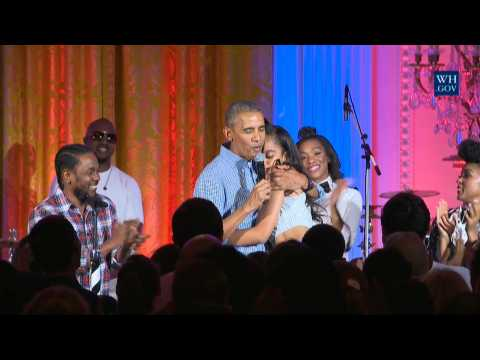 President Obama Celebrates The 4th of July With Celebrities and Family