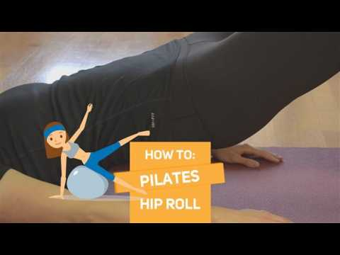 How to in 60 seconds Pilates: Hip roll