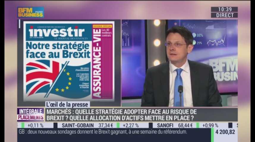 Illustration pour la vidéo Bourse : Quelle stratégie face au risque de Brexit